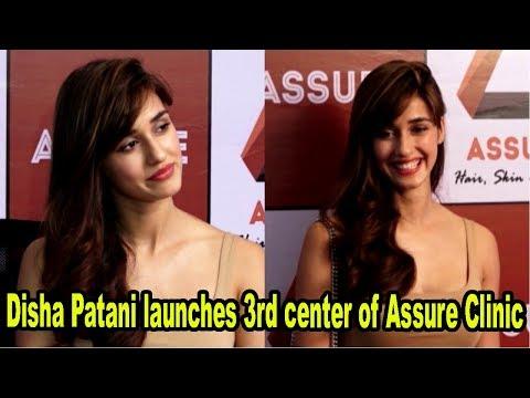 Disha Patani Launches 3rd Center Of Assure Clinic – Hair, Skin & Physio