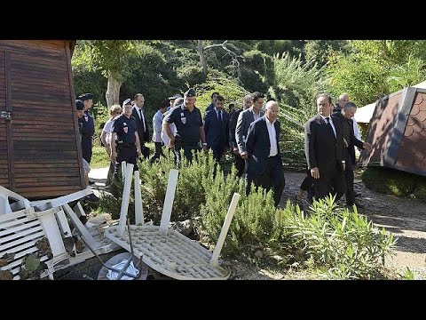 Γαλλία: Στις πληγείσες περιοχές ο Φρανσουά Ολάντ
