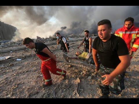 لحظة انفجار بيروت.. ما سر الضباب الأحمر؟