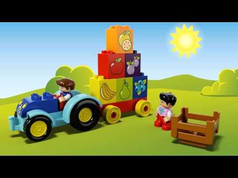 Конструктор Мой первый трактор - LEGO DUPLO - фото № 4