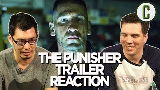 """Dennis Tzeng and Kristian Harloff react to and review the latest teaser trailer for Netflix' """"The Punisher"""" series starring Jon Bernthal.Follow us on Twitter: https://twitter.com/ColliderVideoFollow us on Instagram: https://instagram.com/ColliderVideoFollow us on Facebook: https://facebook.com/colliderdotcomAs the online source for movies, television, breaking news, incisive content, and imminent trends, COLLIDER is a more than essential destination: http://collider.comFollow Collider.com on Twitter: https://twitter.com/ColliderSubscribe to the SCHMOES KNOW channel: https://youtube.com/schmoesknowCollider Show Schedule:- MOVIE TALK: Weekdays  http://bit.ly/29BRtOO- HEROES: Weekdays  http://bit.ly/29F4Job- MOVIE TRIVIA SCHMOEDOWN: Tuesdays & Fridays  http://bit.ly/29C2iRV - TV TALK: Mondays  http://bit.ly/29BR7Yi - COMIC BOOK SHOPPING: Wednesdays  http://bit.ly/2spC8Nn- JEDI COUNCIL: Thursdays  http://bit.ly/29v5wVi - COLLIDER NEWS WITH KEN NAPZOK: Weekdays  http://bit.ly/2t9dNIE- BEST MOVIES ON NETFLIX RIGHT NOW: Fridays  http://bit.ly/2txP3gn- BEHIND THE SCENES & BLOOPERS: Saturdays  http://bit.ly/2kuLuyI- MAILBAG: Weekends  http://bit.ly/29UsKsd"""