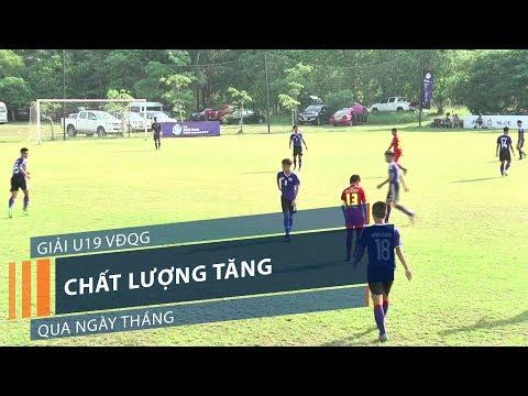 Giải U19 VĐQG: Chất lượng tăng qua ngày tháng | VTC1 - Thời lượng: 2 phút, 17 giây.