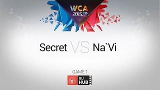 Na'Vi vs Secret, game 1