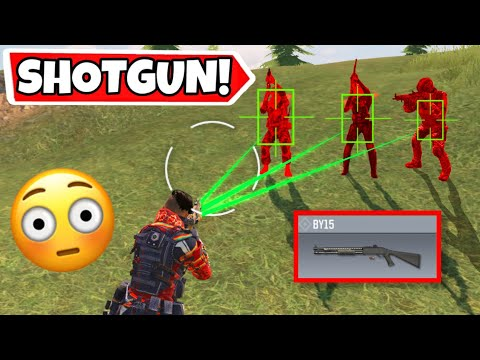 THIS SHOTGUN HAS AIMBOT! CALL OF DUTY MOBILE BATTLE ROYALE