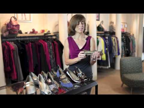 Betsy Fisher on Anyi Lu Shoes