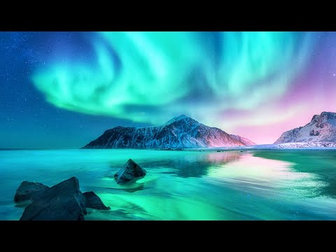Aurora Borealis And Northern Lights - Relaxing Ambient Music for Sleep, Study & Stress Relief