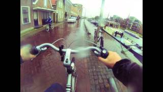 GoPro Hero 3 Black - Time Lapse Bikeride test