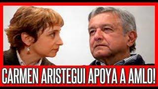 "Video ""Elecciones Mexico 2018"" 🔴 AMLO Apoya a Carmen Aristegui MP3, 3GP, MP4, WEBM, AVI, FLV Mei 2018"