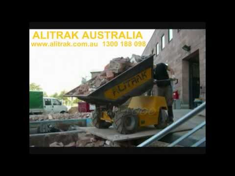 Battery Electric Tipper with Swivel Tiller Handle | Alitrak JT300L