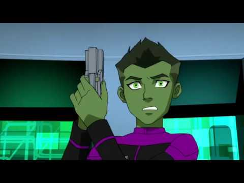 Young Justice | Beast Boy Trapped in Goode Googles Part 1