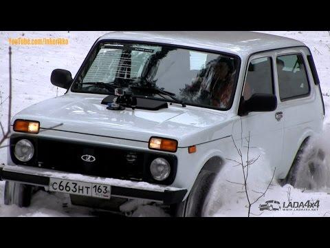Снежный тест-драйв LADA Niva 4x4 1.8 L 93 hp от Супер-Авто, Snow Test Drive
