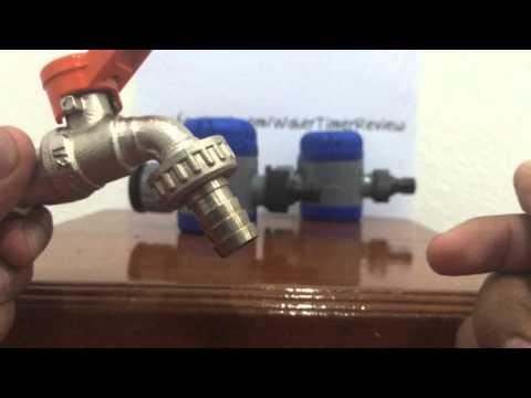 วีดีโอสาธิต การติดตั้งเครื่องตั้งเวลารดน้ำอัตโนมัติ กับ ก๊อกสนาม เเละ รีวิวการใช้งานเครื่องตั้งเวลารดน้ำต้นไม้อัตโนมัติรุ่นไขลาน (ไม่ใช้ถ่าน)