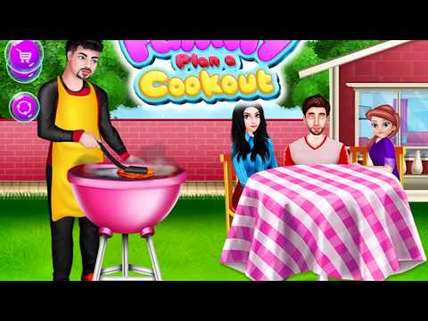 Family Plan A Cookout - Home Cooking Story - Cooking Love Story GamePlay Video By GameiMake
