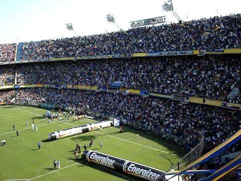 Boca 1 Casla 0 / Ni la muerte nos va a separar - Recibimiento - La 12 - Boca Juniors - Argentina - América del Sur