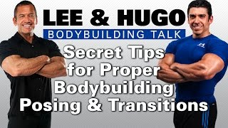 How To Do Bodybuilding Posing Correctly: Lee Labrada&Hugo Rivera Bodybuilding Talk