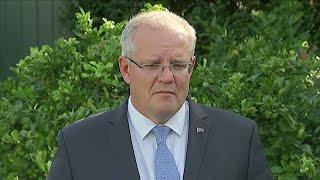 New Zealand terror attacks: Australian PM Scott Morrison reacts to Christchurch shootings