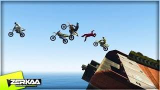 INSANE BEACH BIKE RACING | GTA 5 Funny Moments | E648 (GTA 5 PS4)