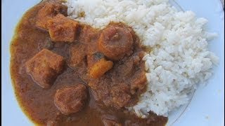 South Indian Traditional Arbi Curry/ Sepakazhlangu kolumbu  in Tamil