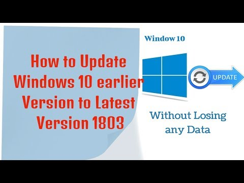 How to Update Windows 10 Latest Version 1809, 1903 without Losing any Data | Windows 10 Updates