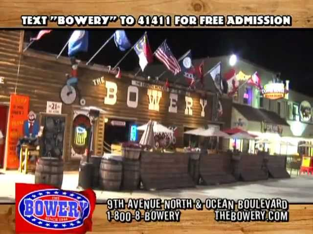 The Bowery Myrtle Beach