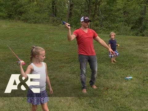 Lachey's Bar 1.02 Clip 'Drew Practices Fly Fishing'