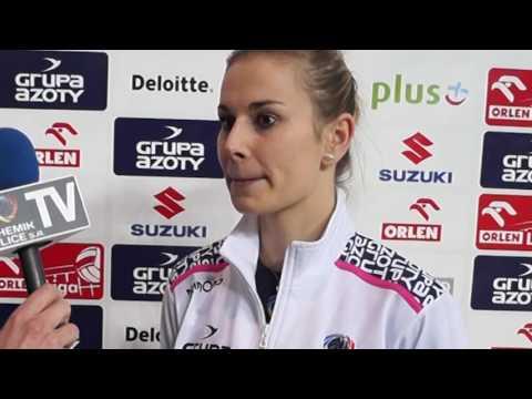 Aleksandra Krzos: Przyciągałam piłki w obronie