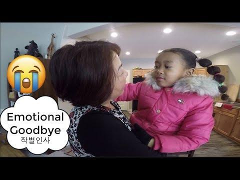 SAYING GOODBYE (Emotional!!) | Yuri wants to go to Korea | 미국일상 작별인사 USA Family Vlog ep. 149