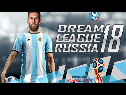 Dream League Soccer Russia 2018 Android Offline 300 MB | FIFA World Cup 2018 Russia DLS