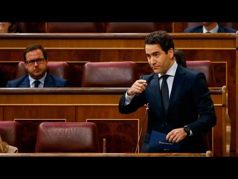 """García Egea:""""Son el Gobierno de la mentira; estamos aquí para evitar que sean además el de la ruina"""""""