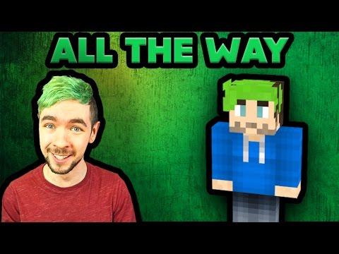 JackSepticEye - All The Way (Songify Remix) by Schmoyoho - Minecraft Music Video