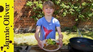 Crispy Chicken   Buddy Oliver   #kitchenbuddies by Jamie Oliver