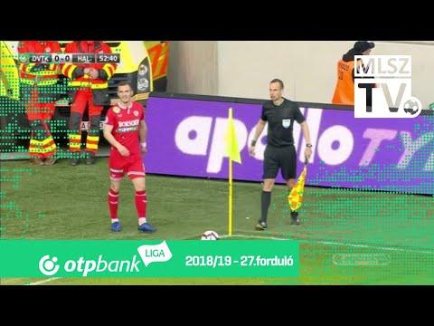 27. forduló: DVTK - Haladás 0-1 (0-0)