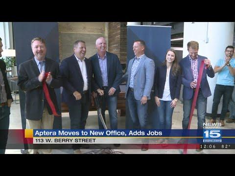 Aptera cuts ribbon on new headquarters
