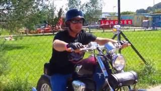 7. Honda Shadow VT600 first ride