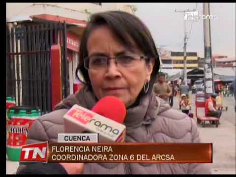ARCSA decomisó queso sin registro sanitario en mercado El Arenal