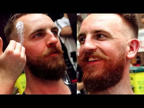 Beard styles - Viking Gets a Beard Trim Before His Wedding - House of Barons
