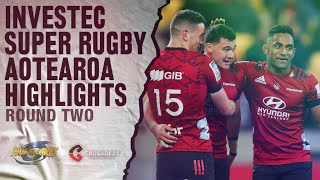 Hurricanes v Crusaders Rd.2 2020 Super rugby Aotearoa video highlights | Super Rugby Aotearoa