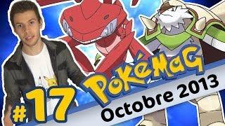 POKEMAG #17 - Octobre 2013 - Humour et Pokémon XY