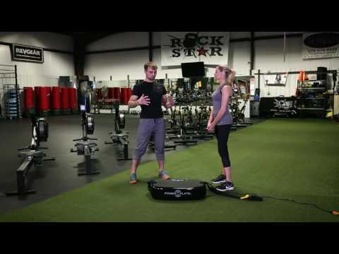 Power Plate training with Lisa Varga, Functional Training