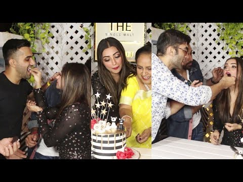 Vishal Karwal & Kushal Punjabi At Birthday Celebration Of Iira Soni