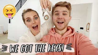 WE GOT THE KEYS TO OUR NEW HOUSE! by Aspyn + Parker