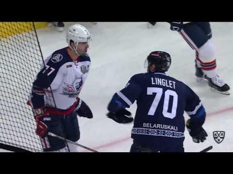 Бой КХЛ: Лингле VS Пиганович (видео)