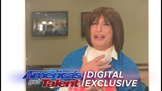 Howie Mandel Becomes Harriet The AGT Crew Member - America's Got Talent 2017 (Extra)