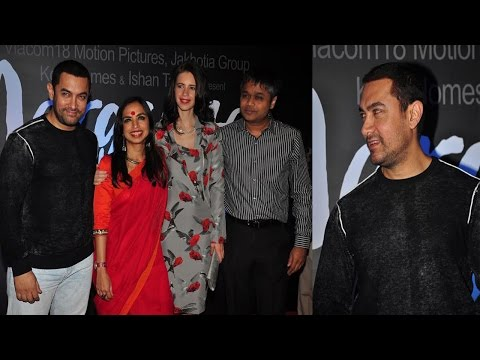 Aamir Khan At Trailer Launch Of Margarita With A Straw