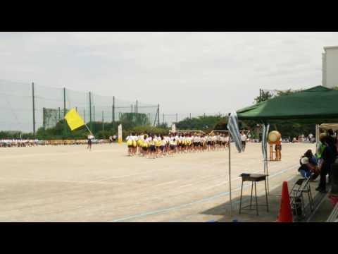 2016/5/14 川崎市立枡形中学校体育祭 黄ブロック3分応援