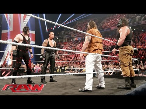 Video The Undertaker and Demon Kane reemerge to unleash hell upon The Wyatt Family: Raw, November 9, 2015 download in MP3, 3GP, MP4, WEBM, AVI, FLV January 2017