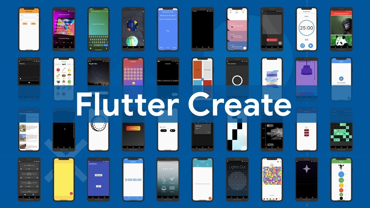 Flutter Create highlights