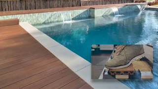 Anti-Slip certified composite Decking made of Rice Husk - by iDecking Revolution