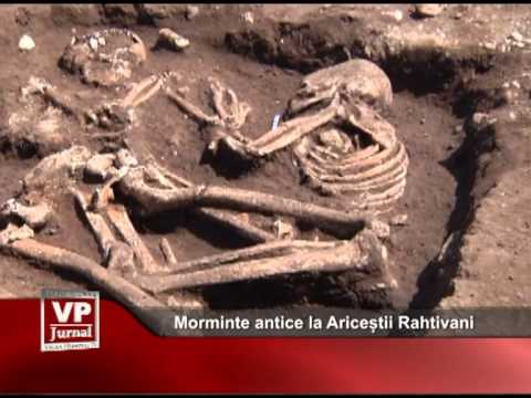 Morminte antice la Ariceștii Rahtivani