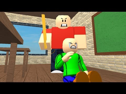 Baldi's Childhood (Sad Roblox Animation)
